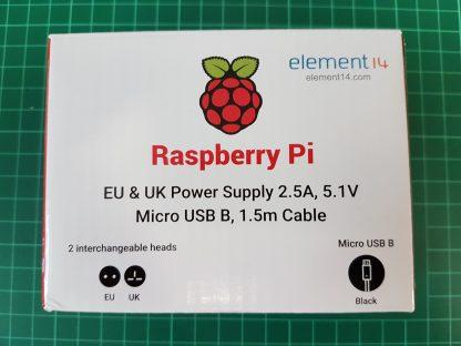 Virallinen Micro USB-virtalähde Raspberry Pi 3:lle