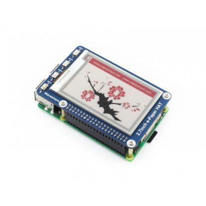 2.7 tuuman e-ink-näyttö Raspberry Pi:lle