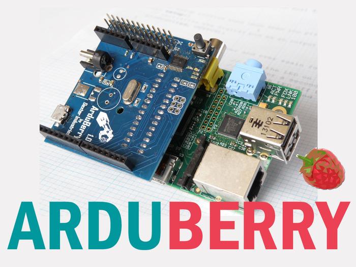 ArduBerry: Yhdistä Arduino ja Raspberry Pi