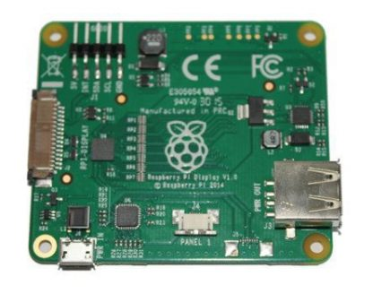 """Virallinen Raspberry Pi 7"""" kosketusnäyttö"""