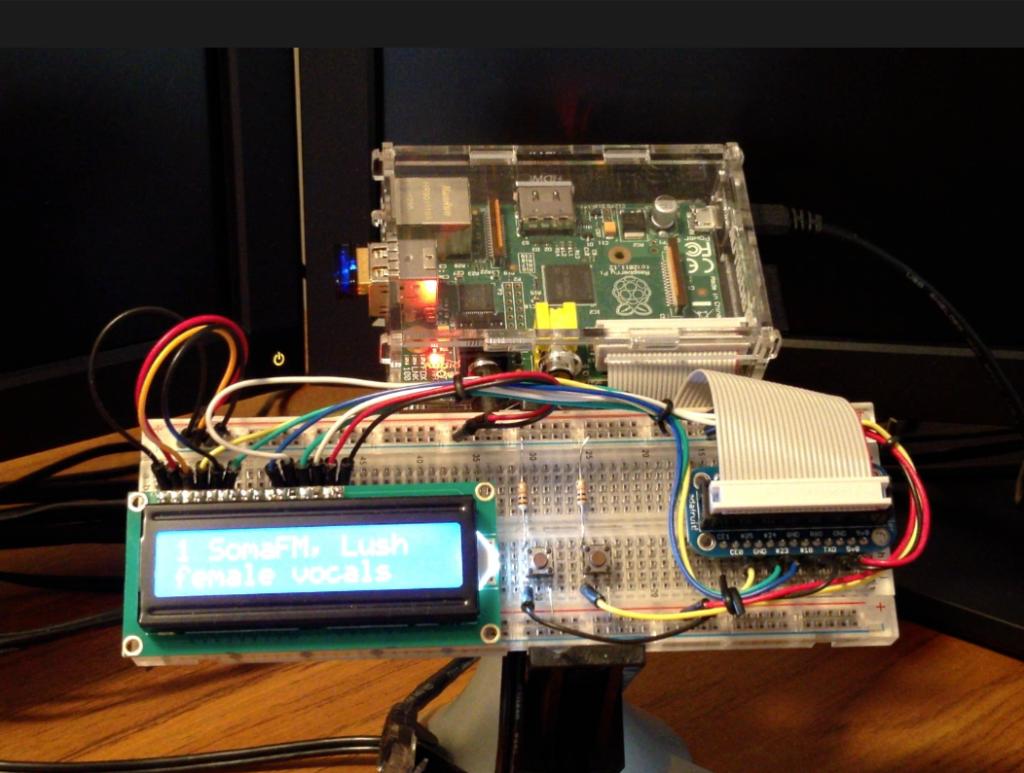 Raspberry Pi:stä nettiradio