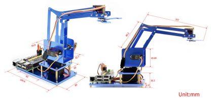 Robottikäsi, 4 vapausastetta