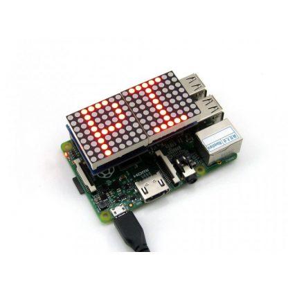 LED Matrix-näyttö Raspberry Pi:lle