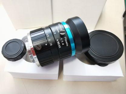 16 mm linssi uuteen Raspberry Pi -kameraan