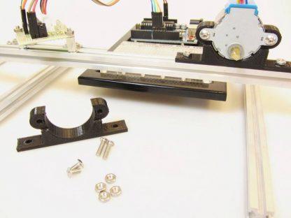 Askelmoottorin kiinnike 3d-printattu