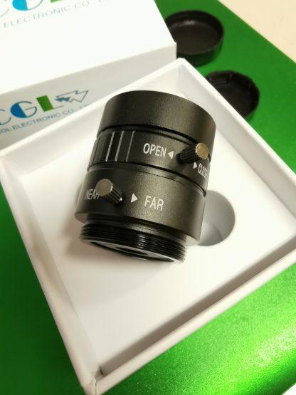 6 mm laajakulmalinssi uuteen Raspberry Pi -kameraan