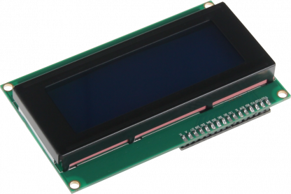 20x4 LCD-näyttö