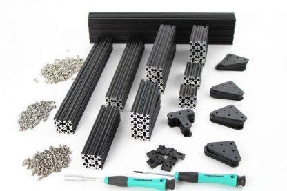 Black Precut Kit in-a-box OpenBeam